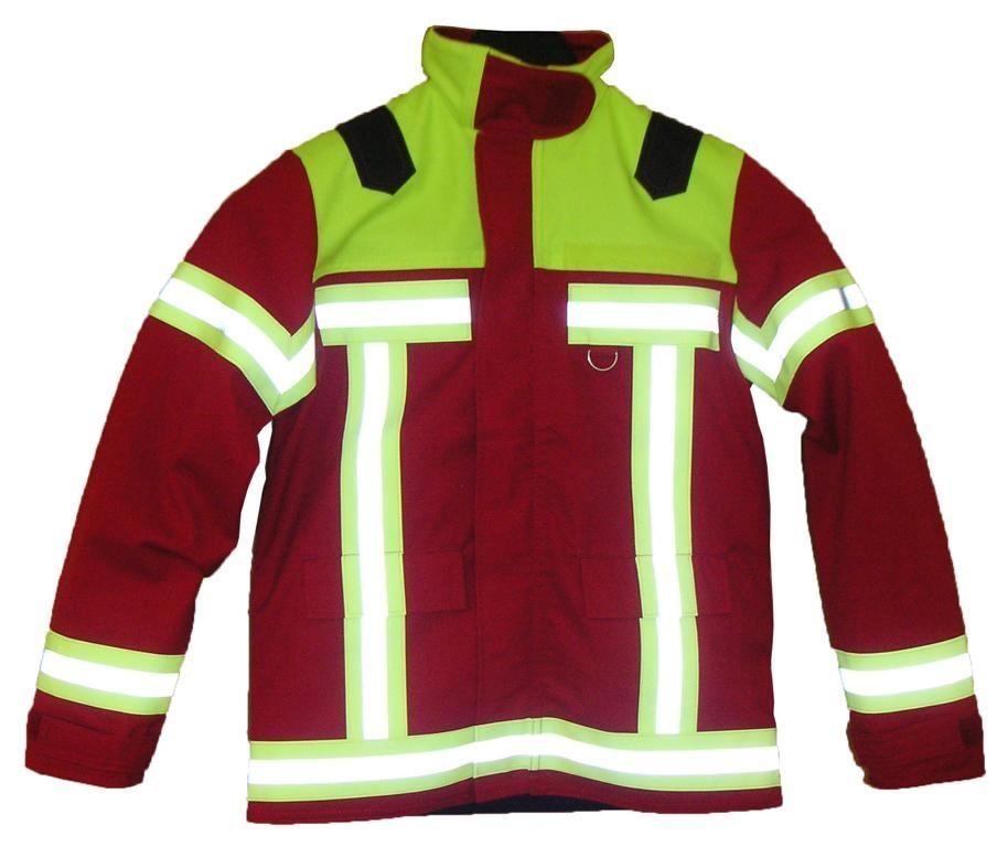 Feuerwehrjacken rot
