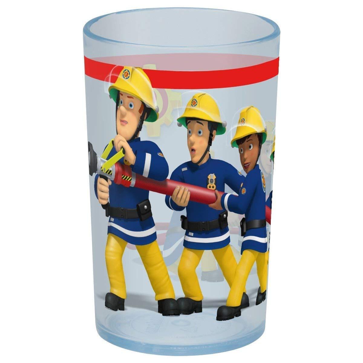 FEUERWEHRMANN SAM TRINKGLAS - Geschirr - Helpi-Shop - Der Feuerwehrshop